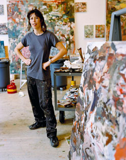 cecily brown artist  studio painter